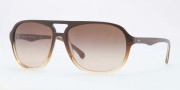 Brooks Brothers BB5007S Sunglasses Sunglasses - 604213 Brown Trans Smoky / Brown Gradient
