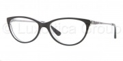 Vogue VO2766 Eyeglasses Eyeglasses - W827 Top Black / Transparent 
