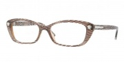 Versace VE3159 Eyeglasses Eyeglasses - 934 Waves Brown