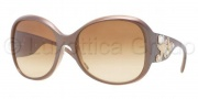 Versace VE4244B Sunglasses Sunglasses - 50302L Metallic Brown / Sand Brown Gradient Yellow 