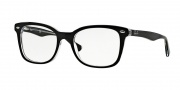 Ray Ban RX5285 Eyeglasses Eyeglasses - 2034 Top Black On Transparent
