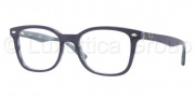 Ray Ban RX5285 Eyeglasses Eyeglasses - 5153 Top Blue On Horn Gray