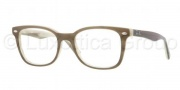 Ray Ban RX5285 Eyeglasses Eyeglasses - 5154 Top Green On Horn Beige