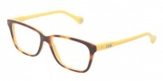 D&G DD1238 Eyeglasses Eyeglasses - 2606 Havana On Yellow