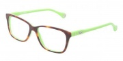 D&G DD1238 Eyeglasses Eyeglasses - 2687 Havana On Green