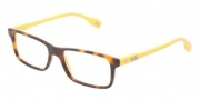 D&G DD1244 Eyeglasses Eyeglasses - 2606 Havana On Yellow
