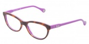 D&G DD1245 Eyeglasses Eyeglasses - 2608 Havana On Violet