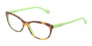 D&G DD1245 Eyeglasses Eyeglasses - 2687 Havana On Green