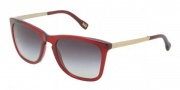 D&G DD3081 Sunglasses  Sunglasses - 550/8G Transparent Red / Gray Gradient