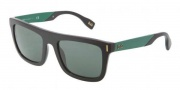 D&G DD3083 Sunglasses Sunglasses - 255371 Black Green