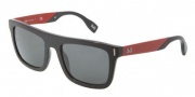 D&G DD3083 Sunglasses Sunglasses - 255487 Black Gray