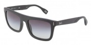 D&G DD3083 Sunglasses Sunglasses - 25578G Matte Black / Gray Gradient