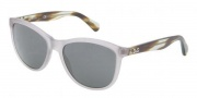 D&G DD3091 Sunglasses Sunglasses - 259887 Matte Gray / Transparent Gray