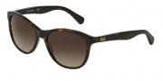 D&G DD3091 Sunglasses Sunglasses - 502/13 Havana / Brown Gradient