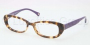 Coach HC6035F Eyeglasses Eyeglasses - 5103 Spotty Tortoise / Purple