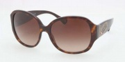 Coach HC8037BF Sunglasses Eyeglasses - 500113 Tortoise / Brown Gradient
