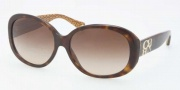 Coach HC8038 Sunglasses Sunglasses - 503313 Dark Tortoise / Brown Gradient 