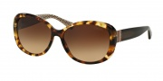 Coach HC8040B Sunglasses Sunglasses - 504713 Spotted Brown Gradient