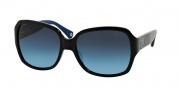 Coach HC8043 Sunglasses Sunglasses - 509117 Black Blue