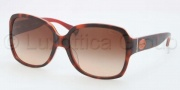 Coach HC8043F Sunglasses Sunglasses - 508813 Tortoise Orange / Brown Gradient