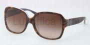 Coach HC8043F Sunglasses Sunglasses - 508913 Dark Tortoise Grey / Dark Brown Gradient