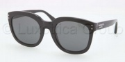 Coach HC8047F Sunglasses Sunglasses - 500287 Black / Grey Solid