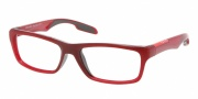 Prada Sport PS 04DV Eyeglasses Eyeglasses - ACM101 Bordeaux / Demo Lens