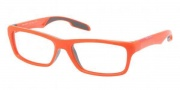 Prada Sport PS 04DV Eyeglasses Eyeglasses - MAC101 Orange / Demo Lens