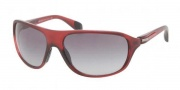 Prada Sport PS 06NS Sunglasses  Sunglasses - MAE3M1 Amaranth Sand Gradient / Gray Gradient