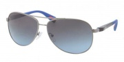Prada Sport PS 51OS Sunglasses Sunglasses - 5AV5I1 Gunmetal / Grey Blue Gradient 
