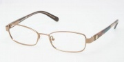 Tory Burch TY1027 Eyeglasses Eyeglasses - 116 Taupe / Demo Lens