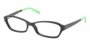 Ralph Lauren RL6097 Eyeglasses Eyeglasses - 5387 Black / Green  Demo Lens