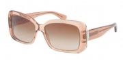Ralph Lauren RL8092 Sunglasses Sunglasses - 536513 Nude / Gradient Brown