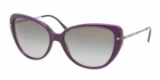 Ralph Lauren RL8094B Sunglasses Sunglasses - 539411 Transparent Violet / Gradient Grey