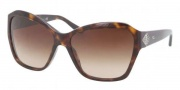 Ralph Lauren RL8095B Sunglasses Sunglasses - 500313 Dark Havana / Brown Gradient