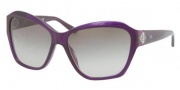Ralph Lauren RL8095B Sunglasses Sunglasses - 53948G Transparent Violet / Gradient Gray