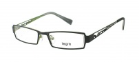 Legre LE5017 Eyeglasses Eyeglasses - 1104 Matte Black / Lime Back 