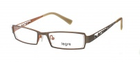 Legre LE5017 Eyeglasses Eyeglasses - 1105 Matte Brown / Orange Back 
