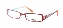 Legre LE5010 Eyeglasses Eyeglasses - 1082 Matte Red / White Back 