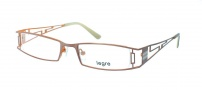 Legre LE5006 Eyeglasses Eyeglasses - 1072 Matte Brown / Orange Back