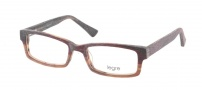 Legre LE219 Eyeglasses Eyeglasses - 675 Burgundy Brown Fade Wood