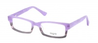 Legre LE219 Eyeglasses Eyeglasses - 677 Purple Gray Fade Wood