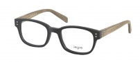Legre LE209 Eyeglasses Eyeglasses - 537 Black / Birch Wood
