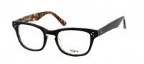 Legre LE173 Eyeglasses Eyeglasses - 471 Black / Science Pattern Back