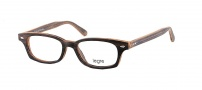 Legre LE157 Eyeglasses Eyeglasses - 525 Grey Mix Yellow Wood