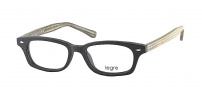 Legre LE157 Eyeglasses Eyeglasses - 527 Black Wood / Grey Green
