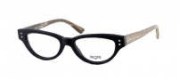 Legre LE156 Eyeglasses Eyeglasses - 522 Black / Birch Wood