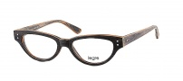 Legre LE156 Eyeglasses Eyeglasses - 525 Grey Mix Yellow Wood