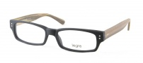 Legre LE155 Eyeglasses Eyeglasses - 522 Black / Birch Wood