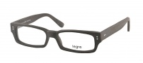 Legre LE155 Eyeglasses Eyeglasses - 527 Black Wood / Grey Green Temples 